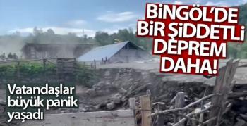 Bingöl'de 5,6 büyüklüğünde deprem!