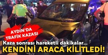 Kuşadası'nda trafik kazası!