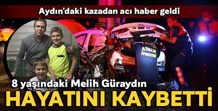 Aydın'daki kazadan acı haber geldi