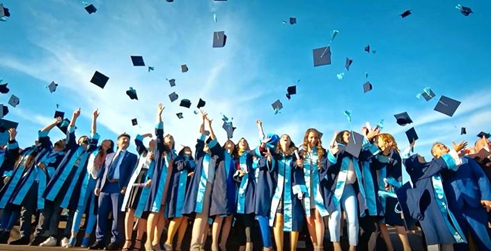 Üniversiteden dereceyle mezun olan öğrenciler belli oldu